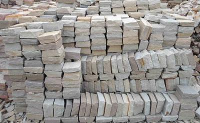 multi yellow cobbles Supplier in India